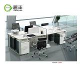 나무로 되는 모듈 사무실 직원 워크 스테이션 Yf-G2004