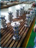 Integral de alta presión de acero de doble cuerpo y el bloque de válvulas de purga