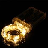 電池式の銅線LED Christamsストリングライト