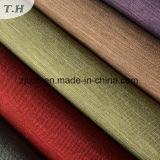 De estilo simple aspecto lino 100% poliéster tejido sofá