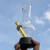 Hv-026 heet in de Rokende Waterpijpen van het Glas van Australië met Zwarte RubberBasis