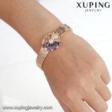 De Juwelen van de Armband van de Luxe van de manier, Neutrale Armband, de Synthetische Armband van CZ met 18K Geplateerd Goud