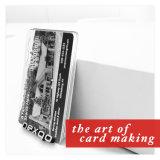 Cartão magnético plástico do PVC da impressão Offset da cor do painel de assinatura 4 do baixo preço