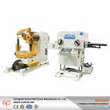 Alimentador automático de la hoja de la bobina con la enderezadora y uso de Uncoiler en máquina de la prensa y herramienta de máquina