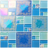 2017 de Nieuwe Kleurrijke Marmeren Tegel van het Mozaïek voor Muur