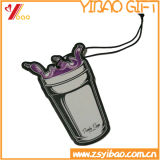 Bevanda rinfrescante di aria di carta su ordinazione della Rosa Flowershape/bevanda rinfrescante aria dell'automobile con la scheda di carta (YB-CB-115)