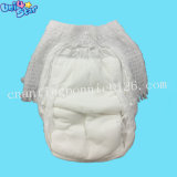OEM 무료 샘플 매우 얇은 처분할 수 있는 바지 작풍 아기 훈련 기저귀