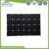 Высокая эффективность 80W моно панели солнечных фотоэлектрических солнечных батарей модуля