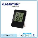Термометр и влагомер с часами LCD для промотирования подарка