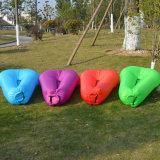 Wasserdichter runde Form-aufblasbarer Luft-Nichtstuer-fauler Beutel-Stuhl-Luft-Sofa-Bett-Schlafsack für das Strand-Kampieren