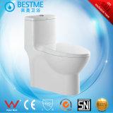 Asiento de tocador tamaño pequeño del cuarto de baño con la cubierta Bc-2048 de los PP