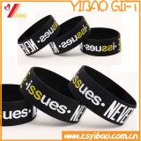 Custom Barato Wirstband& bracelete de silicone com diferentes cores (YB-SM-05)