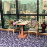 De Buena calidad de gama alta de madera muebles de madera maciza Conjunto de silla de cuero
