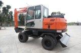 Máquina escavadora hidráulica nova de China do preço do competidor