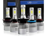 S2 IP68 72W 7200lumens 9004 LED 헤드라이트 전구