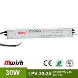 30W 24V imprägniern Fahrer der IP67 LED Stromversorgungen-LED