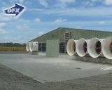 Vorfabriziertes Stahlkonstruktion-Geflügel-Huhn-landwirtschaftliches Gebäude/Bratrost-Haus für Verkauf