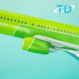 Neues dekoratives flaches Modell B737-800 S7 mit weißem Geschäfts-Geschenk der Tür-39.5cm