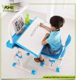 숙제 책상 고정되는 아이 연필 쓰기 아이들 테이블 의자
