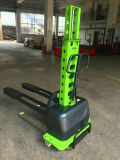 Bague Four-Wheelers hydraulique intégrée chariot élévateur à fourche électrique auto chargement portable
