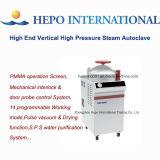Autoclave de vapor vertical do vácuo do pulso da parte alta com função seca