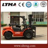 Forklift Diesel do terreno áspero da tonelada 2WD de Ltma 3.5