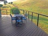 Самые лучшие продукты Railing провода кабеля цены с деревянным верхним поручнем для балкона