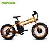 De oranje Elektrische Fiets van de Motor van de Kleur Dubbele 48V 500W 350W