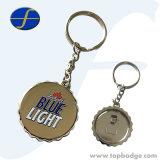 De Flesopener GLB Keychain van het Metaal van het Embleem van de douane Met de Rug van de Opener