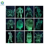 3D LED Night Light Innovative Table Lamp Superhero