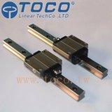 CNC機械のためのフランジのブロックが付いている線形ガイド・レール