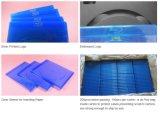 Casella blu 7mm Rectange sottile di caso DVD del coperchio DVD del raggio DVD