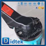Didtek API6d dreifaches Exzenterbewegungsdrosselventil