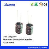 3.3UF 250V 105º C Elektrolytische Condensator 10000hours Met lange levensuur