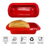 Бисфенол-А Non-Stick 10-дюймовый большой силиконовый чехол для выпечки формы для выпечки хлеба поддон