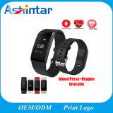 血圧の腕時計のパルスのメートルの酸素の心拍数の適性の追跡者のスマートなリスト・ストラップ