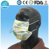 Purpel Gesichtsmaske mit Earloop im nichtgewebten Gewebe