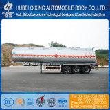 46000 litros 3 eixos de liga de alumínio do tanque de combustível semi reboque