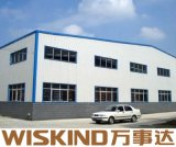 Struttura d'acciaio del magazzino della Cina della tettoia aumento prefabbricato poco costoso della fabbrica di alto