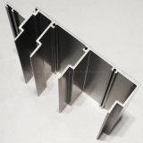 Perfil de alumínio de África do Sul para a porta do indicador com revestimento de bronze anodizado do moinho