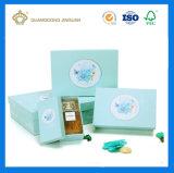 Роскошный жесткая бумага плата Handmaded Подарочная упаковка (с) окна из ПВХ