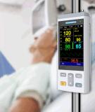 SpO2 de Handbediende Draagbare Impuls Oximeter Oxymeter van de Monitor met NIBP&Temp