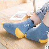 Animal mignon dessin animé de haute qualité de la cheville chaussettes de coton pour les enfants