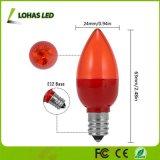 bombilla roja de 0.5W E12 LED para el festival Decoraton del partido