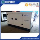 Electromotor silencieux inférieur de diesel de grande capacité de remorque de la consommation 100kVA 80kw