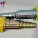 87613フランジの油圧ホースフィッティングのフランジSAE J516のフランジまっすぐな小松はフランジ6000のPsiのフランジを付けたようになる