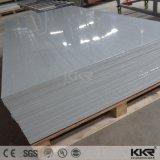 L'acrilico di pietra solido lucido riveste la superficie solida per il comitato di parete
