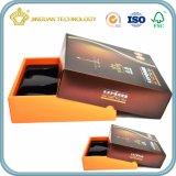 Коробки подарка бумаги конструкции OEM с пластичным Inset (крышка и низкопробная коробка)