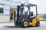 建築工業のためのXCMGの構築機械装置3.5のトン2WDのディーゼルフォークリフト