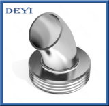 衛生ステンレス鋼の衛生学45degree溶接の雄ネジの管の肘(DY-E024)
